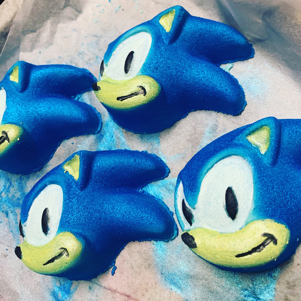 Blue Hedgehog Bath Bomb