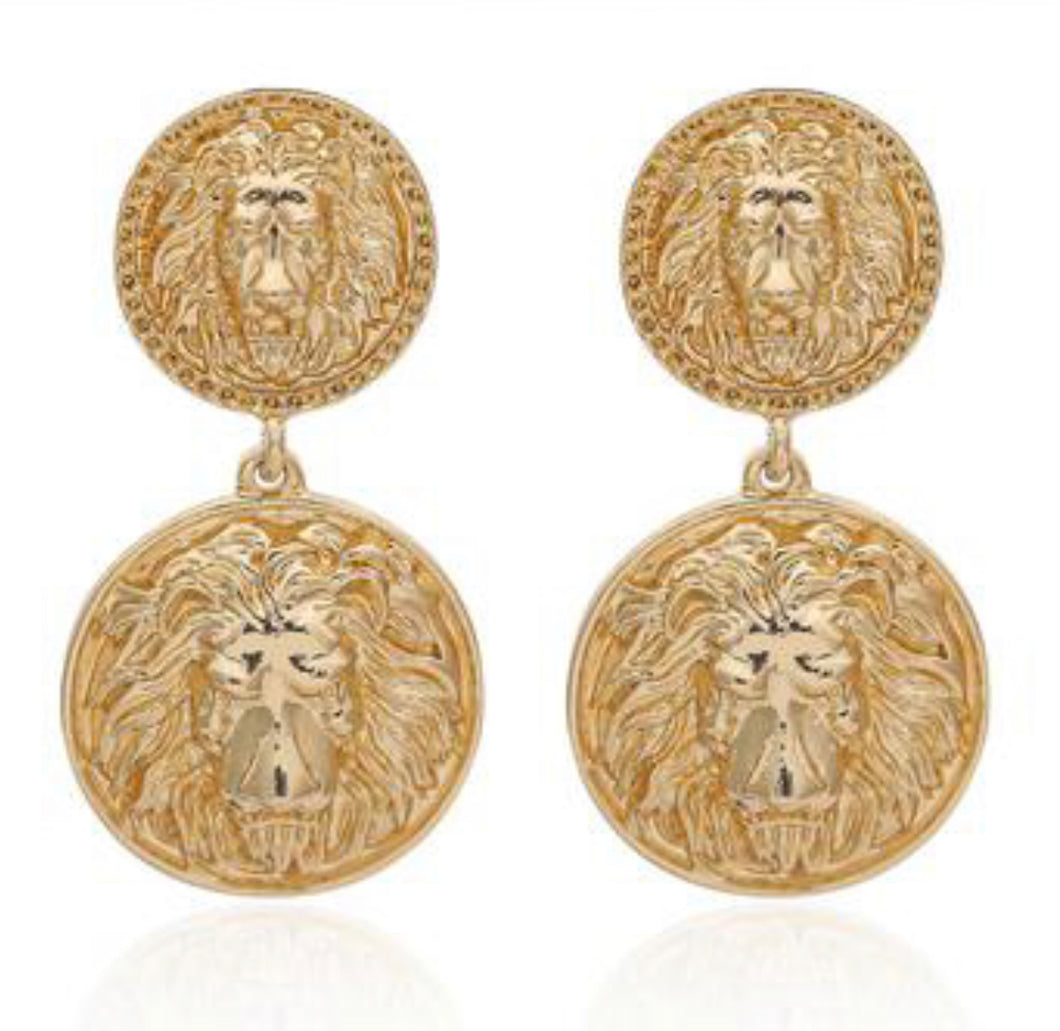 Inner Lion Earrings