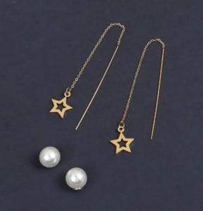 Sea to Star Earrings