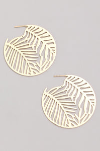 Golden Jungle Earrings