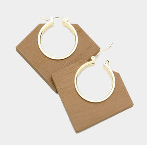 Angular Wood Earrings