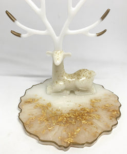 Gold & White Deer