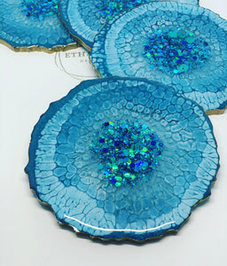 Bluest Blue Coasters