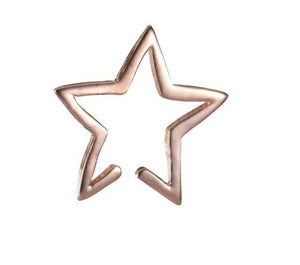 Gold Star Ear Cuffs