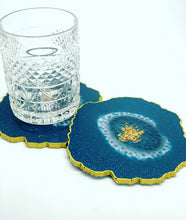 Glorious Teal Coasters