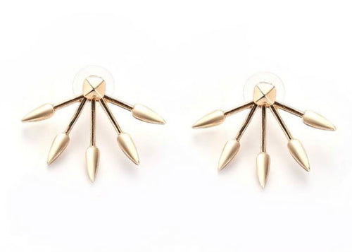 Spike Cuff Earrings