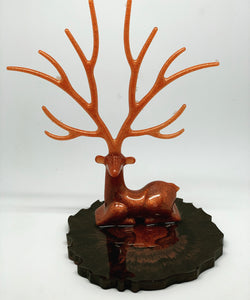 Red Killarney Deer Trinket Dish