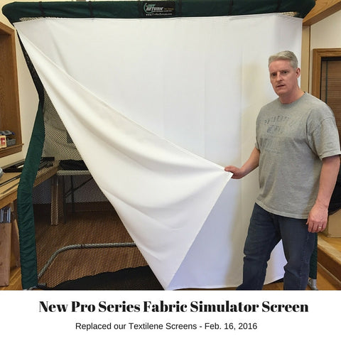 Golf Simulator Screen Pro Series