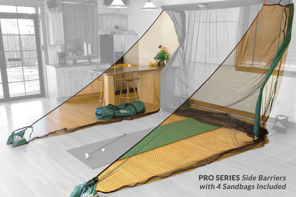 Pro Series Side Barriers (4 Sandbags Included)
