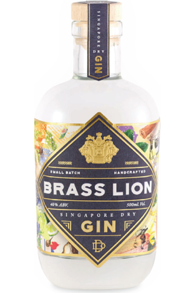 Brass Lion Gin - Temple Cellars