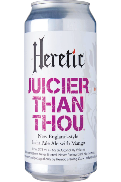 Heretic Juicier Than Thou NEIPA Case of 24 - Temple Cellars
