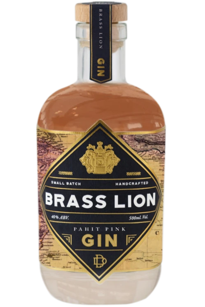 Brass Lion Pahit Pink Gin - Temple Cellars