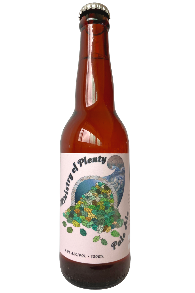 Alive Ministry of Plenty (Hot Side Pale Ale) - Temple Cellars