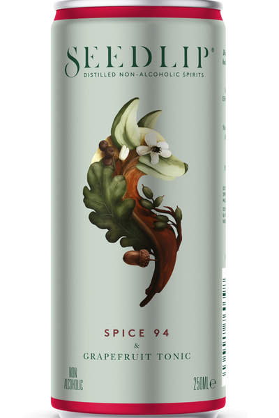 Seedlip Spice 94 & Grapefruit Tonic 4 Pack - Temple Cellars