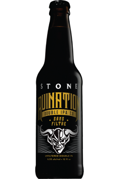 Stone Ruination Double IPA Sans Filtre - Temple Cellars