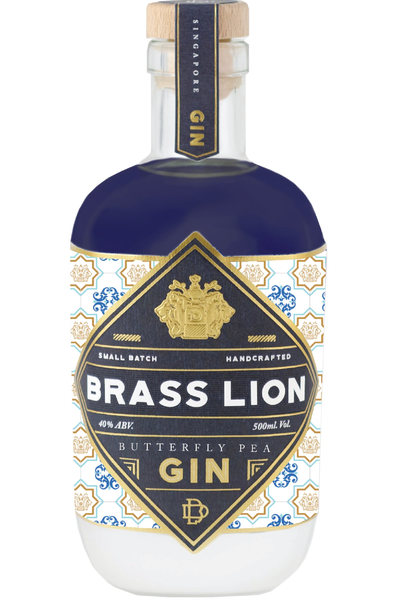 Brass Lion Butterfly Pea Gin - Temple Cellars