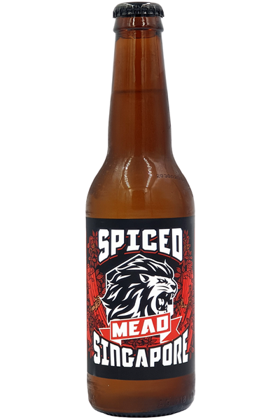 Lion City Spiced Mead - Temple Cellars