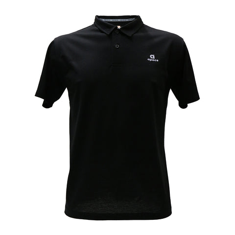 Apacs Cotton Polo Shirt (AP012) - Black