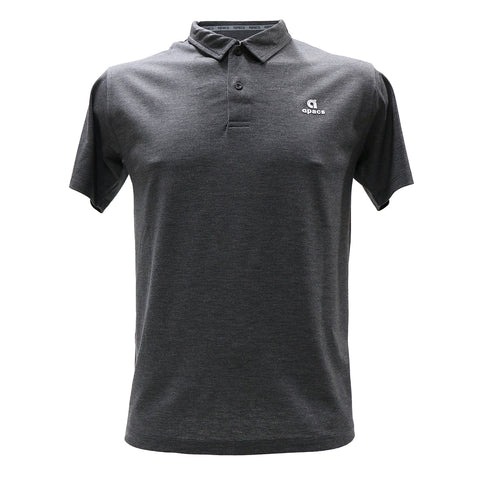 Apacs Cotton Polo Shirt (AP012) - Dark Grey