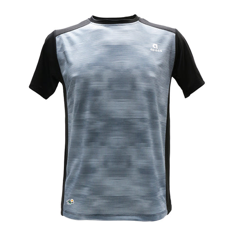 Apacs Dry-Fast T-Shirt (AP10105) - Grey/Black