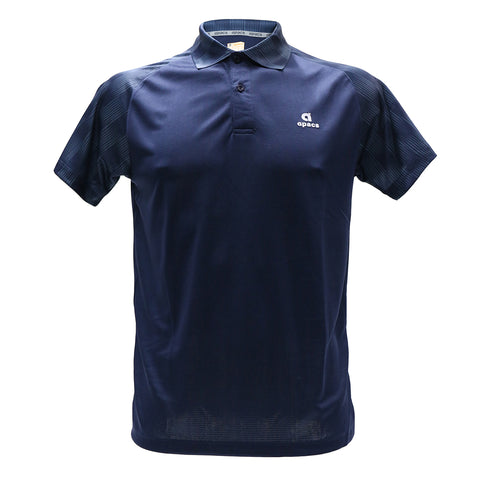 Apacs Dry-Fast Collared Shirt (AP13012) - Navy