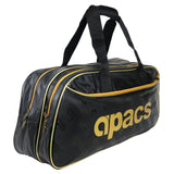 Apacs Double Compartment Holdall - Gold/Black