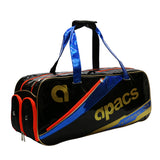 Apacs Lee Hyun IL Double Compartment Holdall - Gold/Black/Blue