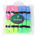 Yehlex PU Super Grip 12 Pack - Pastel Colours