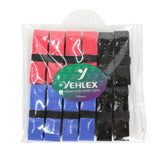 Yehlex Overgrip 12 Pack - Dark Colours