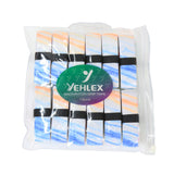 Yehlex PU Super Grip 12 Pack - Rainbow Colours