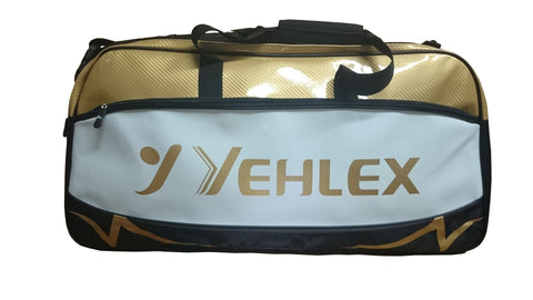 Yehlex Holdall - Gold/Black/White