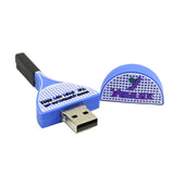 Yehlex USB 16Gb. Memory Stick - Racket Design
