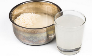 RICE WATER FOR BEAUTIFUL SKIN AND LONG HAIR