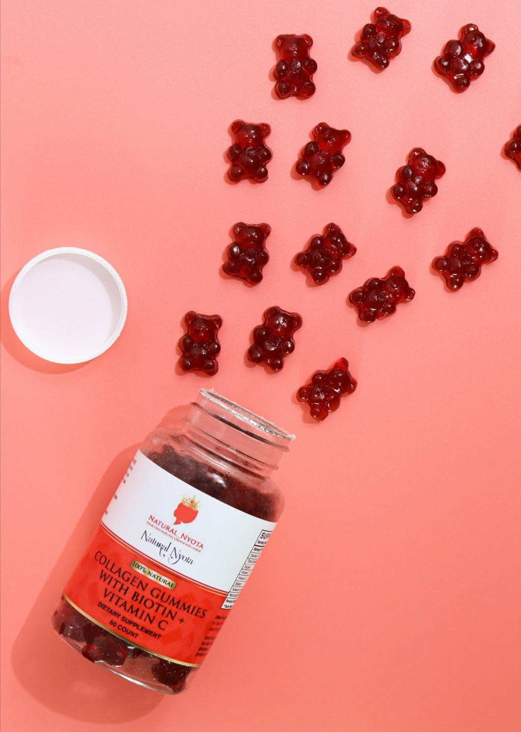 COLLAGEN GUMMIES WITH BIOTIN + VITAMIN C