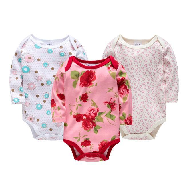 LouLi 3 Gentle Rompers Set - LouLi - Designed For Your Child