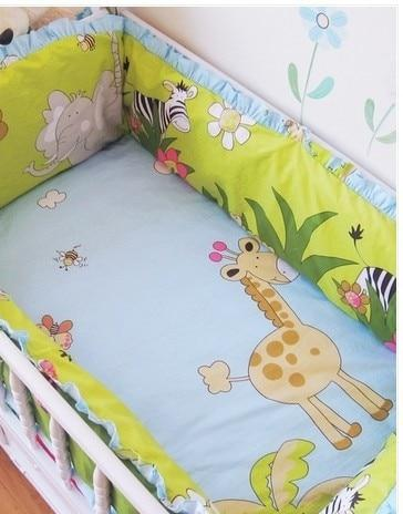 LouLi 4 Bumpers 1 Sheet and 1 Pillowcase Set - LouLi - Designed For Your Child