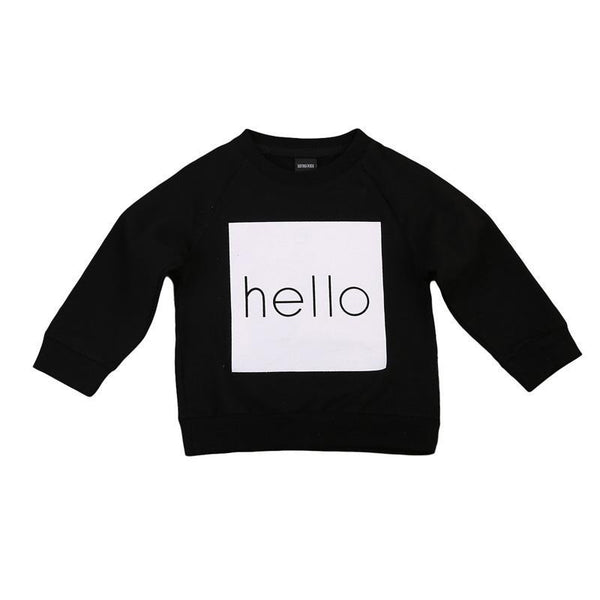 LouLi All I Want To Say Is Hello Sweatshirt - LouLi - Designed For Your Child