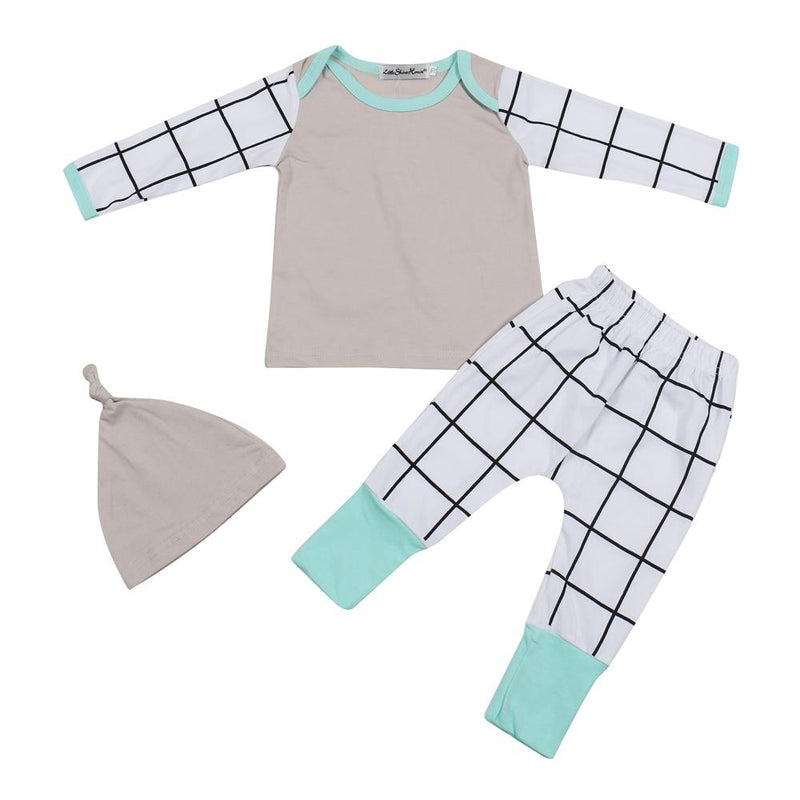 LouLi Angle Hat + Shirt + Pants Baby Set - LouLi - Designed For Your Child