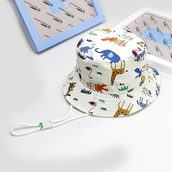 LouLi At The Zoo Baby Panama Hat - LouLi - Designed For Your Child