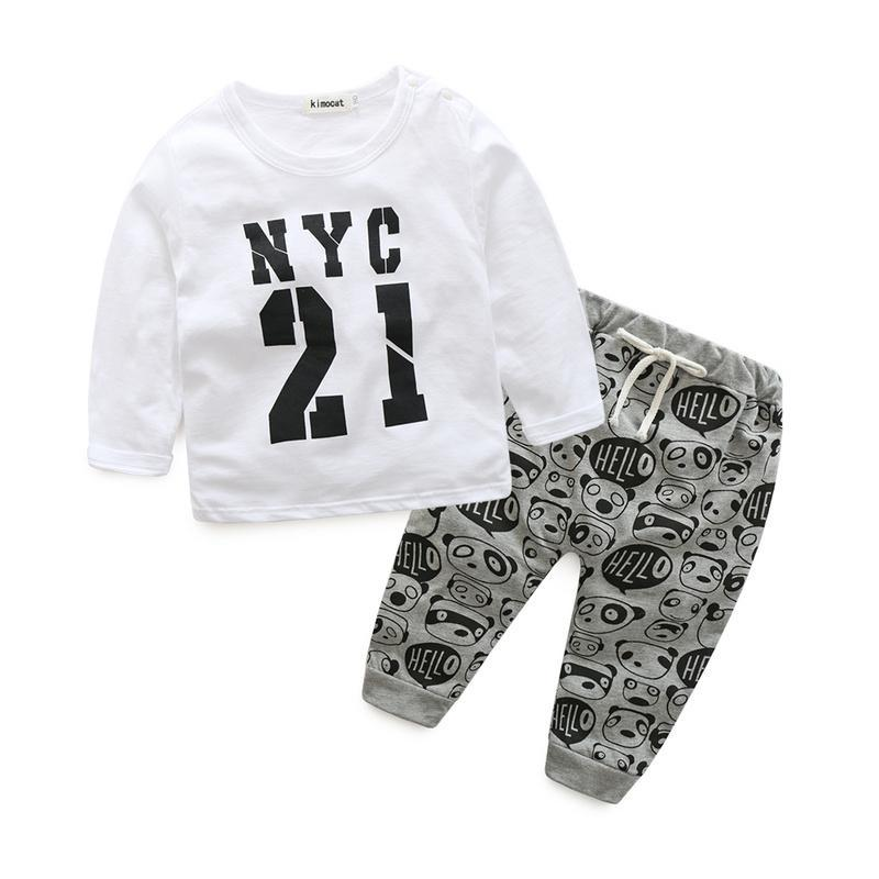 LouLi Baby Shirt And Pants Cool Set - LouLi - Designed For Your Child