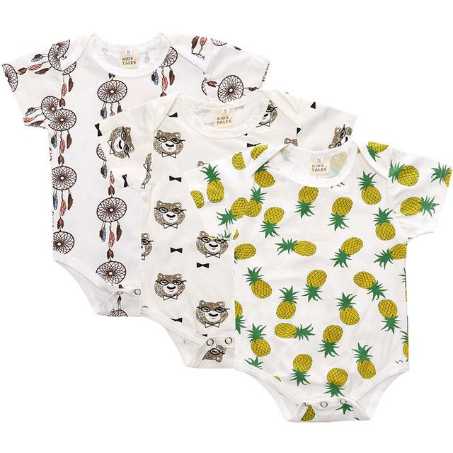 LouLi Cartoon 3 Rompers Set - LouLi - Designed For Your Child