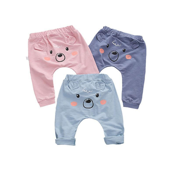 LouLi Cartoon Bear Baby Pants - LouLi - Designed For Your Child