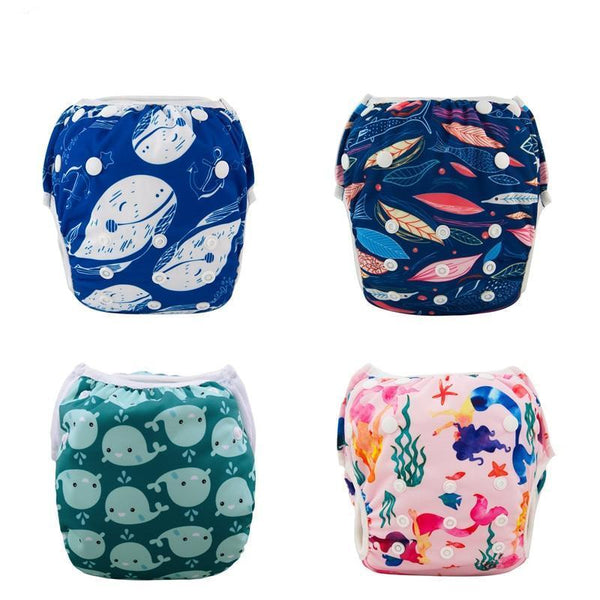 LouLi Cartoon Reusable Swimming Diaper - LouLi - Designed For Your Child