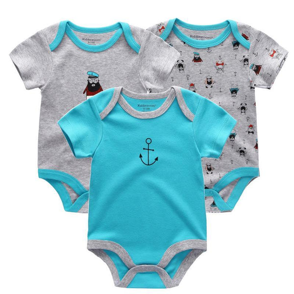 LouLi Colorful 3 Rompers Set - LouLi - Designed For Your Child
