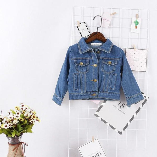 LouLi Denim Is Always a Good Idea Baby Jacket - LouLi - Designed For Your Child
