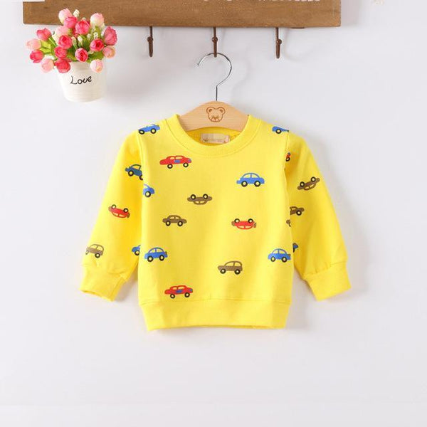 LouLi Drive Me Home Baby Sweatshirt - LouLi - Designed For Your Child