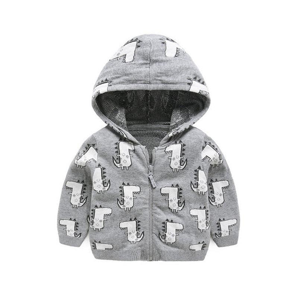 LouLi Friendly Alligator Baby Hoodie - LouLi - Designed For Your Child