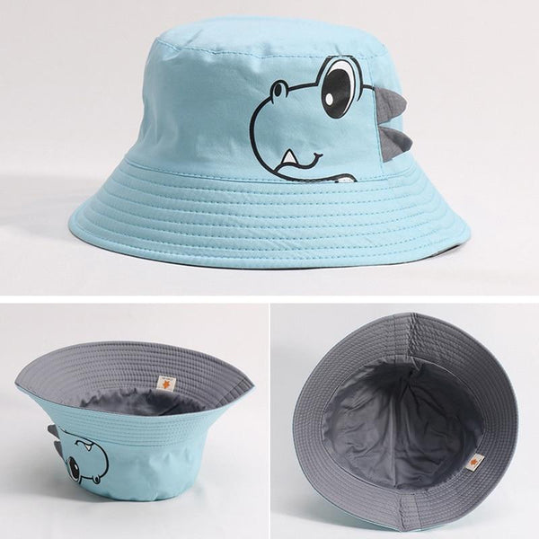 LouLi Friendly Dinosaur Double Sided Baby Hat - LouLi - Designed For Your Child