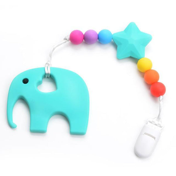 LouLi Handmade Loving Silicone Elephant Baby Teether - LouLi - Designed For Your Child