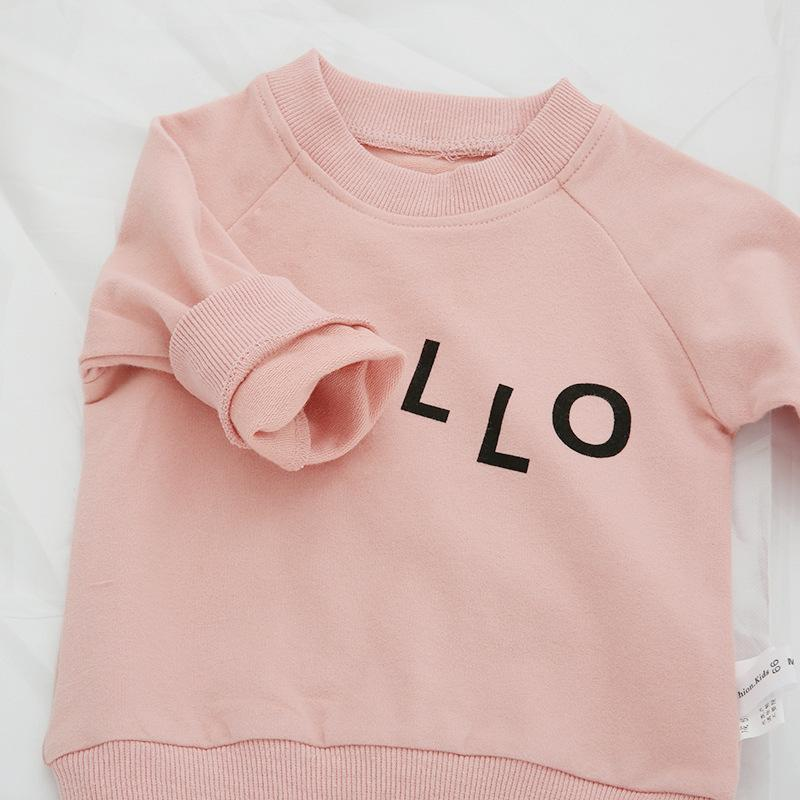 LouLi Hello World Baby Sweatshirt - LouLi - Designed For Your Child